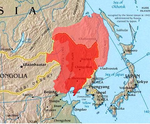 Японских войск в маньчжурии